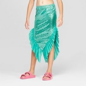 New! Cat&Jack Mermaid Scale Swim Skirt